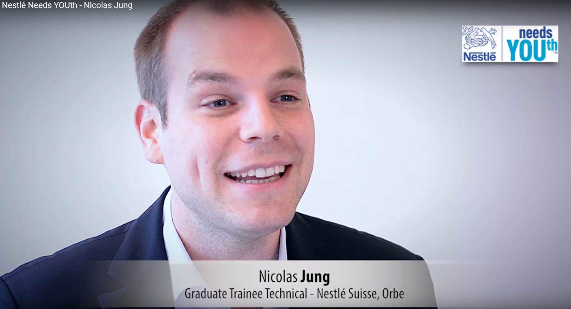Nestlé Needs YOUth - Nicolas Jung